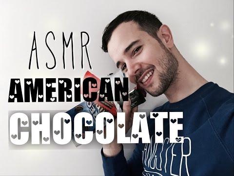 ASMR American CHOCOLATE (french, english)
