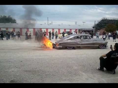 voodoo kings 50 buick and 59 caddy ridiculous flame throwers