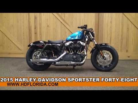 New 2015 Harley Davidson Sportster Forty-Eight Motorcycles for sale - New Color