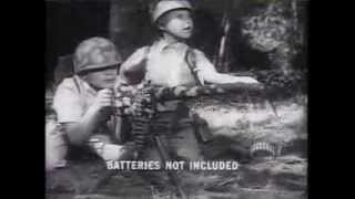 War Toy TV Ads from 50s and 60s