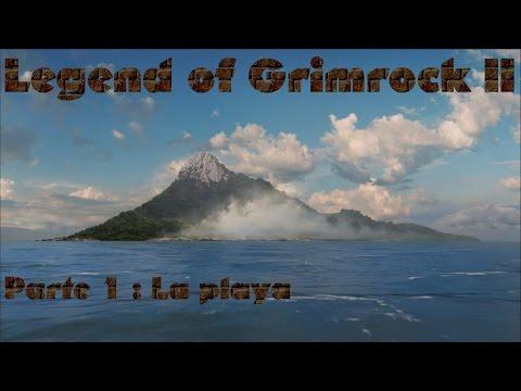 Juegos indie : Legend of Grimrock 2 : Parte 1 : La playa