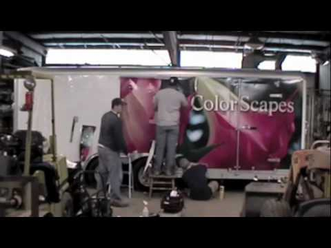 Enclosed Trailer Vehicle Wrap