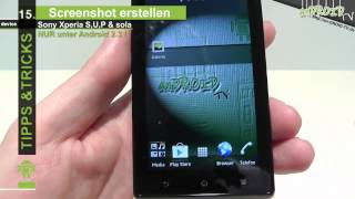 Sony Xperia S, U, P und Xperia sola  - Tipps & Tricks [15] Screenshot - anDROID TV