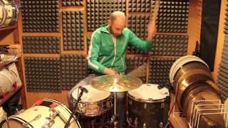 """How to get a """"Fat Dead"""" snare sound - Your Drum Sound Update #2 (ITALIAN SUBTITLED)"""