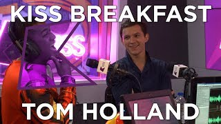 Tom Holland talks Spider-Man: Homecoming, Getting Punched, Tinder and More!