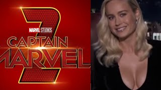Epic Captain Marvel 2 News! Director GONE & Brie Making Demands!