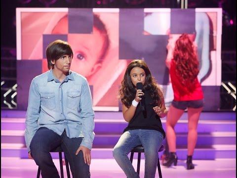 Xuso Jones y Abril imitan a Juanes y Nelly Furtado en Tu cara me suena Mini