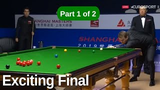 Ronnie O'Sullivan vs Shaun Murphy | Best Frames | 2019 Shanghai Masters Final Part 1