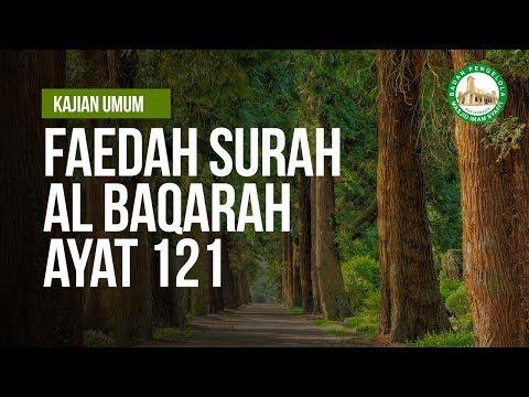 Faedah Surah Al Baqarah ayat 121 - Ustadz Andi Abu Fadhillah As Samawy