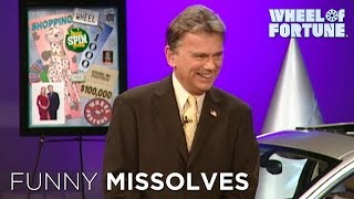 Hilarious Wheel of Fortune Missolves!
