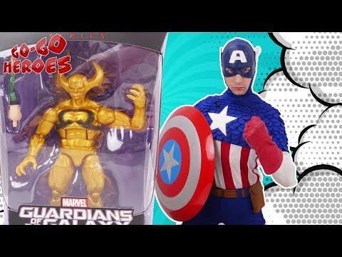 КАПИТАН АМЕРИКА и супергерои защищают камни бесконечности!
