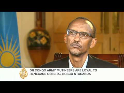 Rwanda denies supporting rebels in the DRC