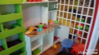 Kids Kitchen Room Toy Kitchen Tour for childrens