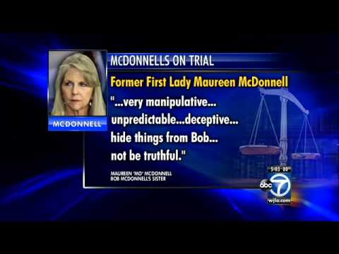 Bob McDonnell's sister testifies in corruption trial