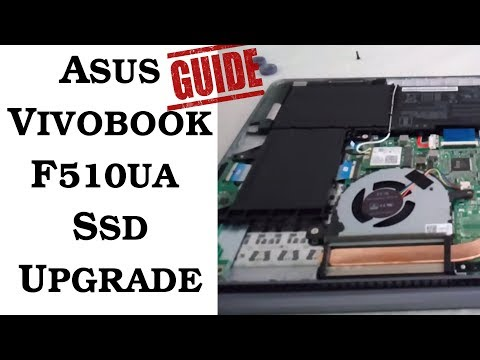 How to install 7mm SATA SSD to Asus Vivobook F510UA