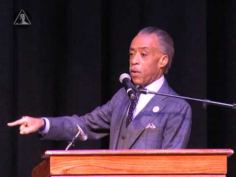 Rev. Al Sharpton at CSU John Crawford III