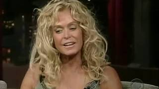 Late Show with David Letterman - Farrah Fawcett