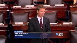 CLIP: Sen. Rand Paul (R-KY) begins his remarks on Patriot Act and NSA Surveillance (C-SPAN)