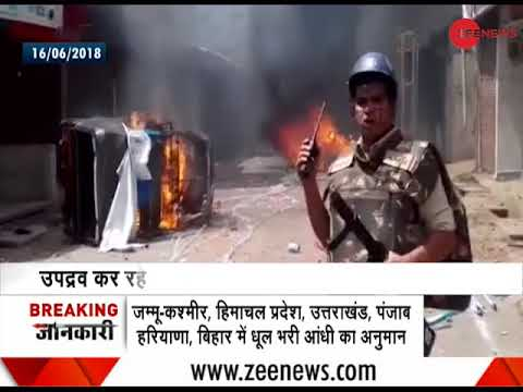 Tension in MP's Shajapur continues after violence broke out yesterday