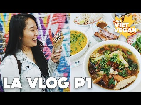 ✈ Come with Me to Los Angeles // Part 1 // VEGAN TRAVEL VLOG ✈