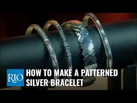 silver beads for jewelry making. How To Make A Patterned Silver