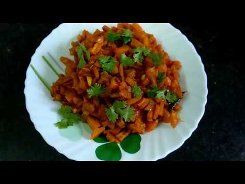 How to Prepare Carrot Fry in 5min Telugu #MomsTastyRecipes