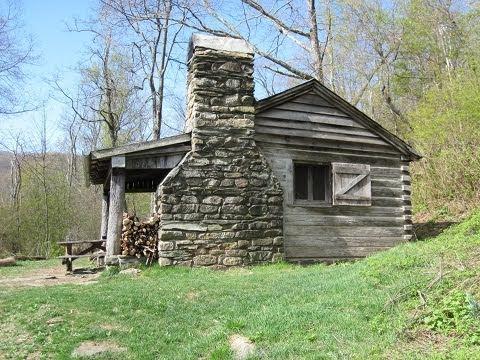 pocosin cabin on the appalachian trail youtube