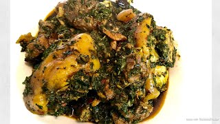 How To Make The Best Afang Soup| Most Try #nigeriafood#afangsouprecipe#ukazisoup