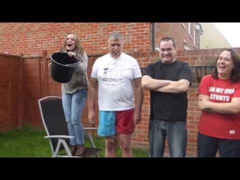Ice Bucket Challenge for Children's Cancer and Leukaemia Movement (CALM)