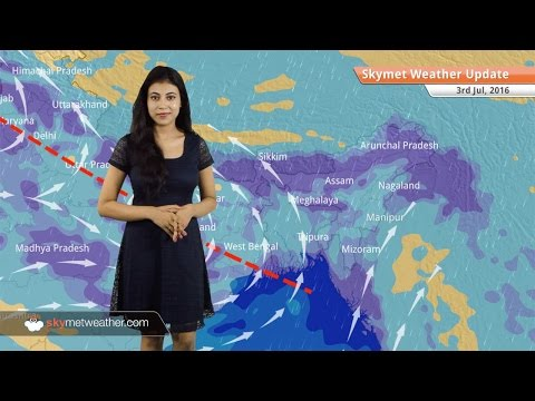 Weather Forecast for July 3: Good Monsoon rains continue in Delhi, Mumbai, Kolkata, Jammu
