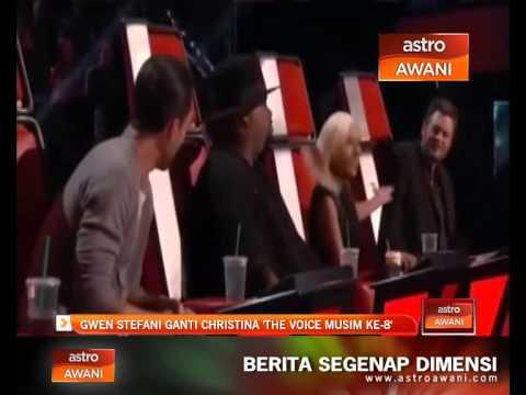 Gwen Stefani ganti Christina 'The Voice musim ke-8'