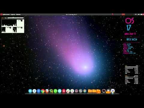 Como instalar y configurar Compiz.cairo dock.conky manager y numix en Ubuntu