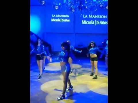 Baile para el quince de mica- party rock  on the floor