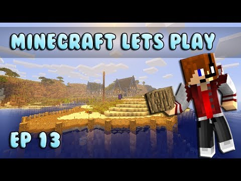 Minecraft Lets Play: Harbor Building Ep 13