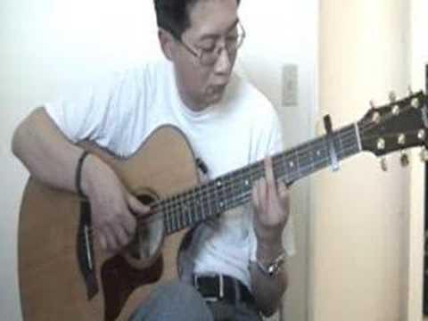 Hana Flower 花 (Masaaki Kishibe) - Fingerstyle Guitar Tab