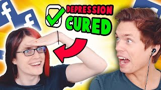Can memes cure his depression? (w/ Boyinaband)