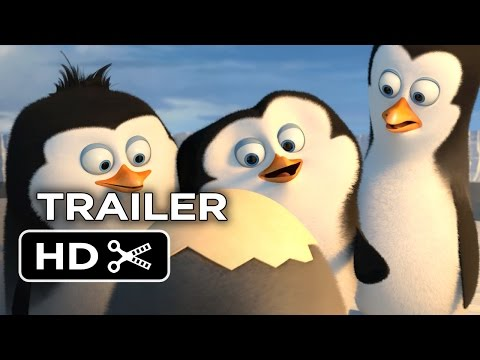 The Penguins of Madagascar TRAILER 2 (2014) Benedict Cumberbatch Animated Movie HD