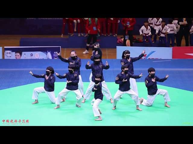 2017 China Open,Taekwondo Dance,Junior 1st,Dragon Kids,2017 中国跆拳道公开赛 跆舞少年组 冠军 浙江跆协 中国龙队示范团 龙拳小子 林秋楠 thumbnail