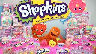 Season 5 Shopkins + Season 4 12 Pack Unboxing in Vending Machine by Fuzzy Puppet