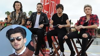 Harry Styles Cries Over Zayn Malik Leaving One Direction Band Reactions