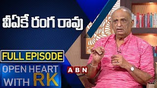 Film Critic V. A. K. Ranga Rao | Open Heart with RK | Full Episode