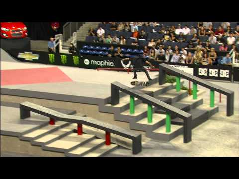 Street League 2012: Ontario Air Force Reserve Top Ranked Qualifier - Nyjah Huston