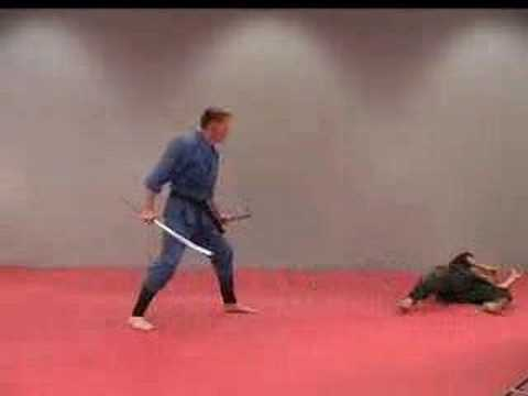 Rick Tew Ninja Training Sword Tactics Martial Art and Ninja Camp California Image 1