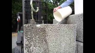 [Graviti Blocks - Water Permeability Test - Gravity Wall Systems] Video