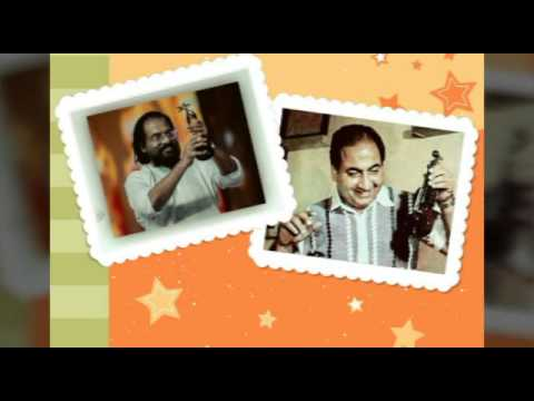 Mohammad-Rafi vs Kj Yesudas mixed song Anuraga Lola gaatri High Quality Images