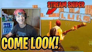 Ninja Helps Nicest Stream Sniper Spell Lupo's Name in Fortnite - Fortnite Best and Funny Moments