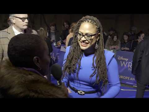 Ava DuVernay European Premiere  A Wrinkle In Time 13th March 2018