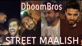 DhoomBros get Street Maalish - (ShehryVlogs # 77)
