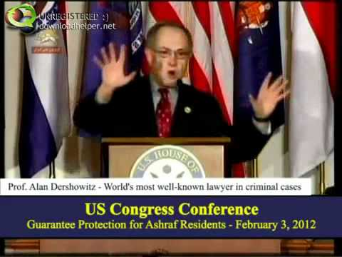 Alan Dershowitz on the Hill – Talks About U.S. Iran policy