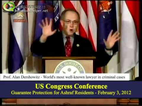 Alan Dershowitz on the Hill – Talks About U.S. Iran policy